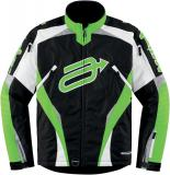 Nepromokavá bunda ARCTIVA JACKET COMP7 CAM BLACK/GREEN