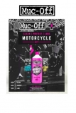 A Čistící sada na motocykly MUC-OFF THE CLEAN PROTECT LUBE MOTORCYCLE KIT CONTAINS