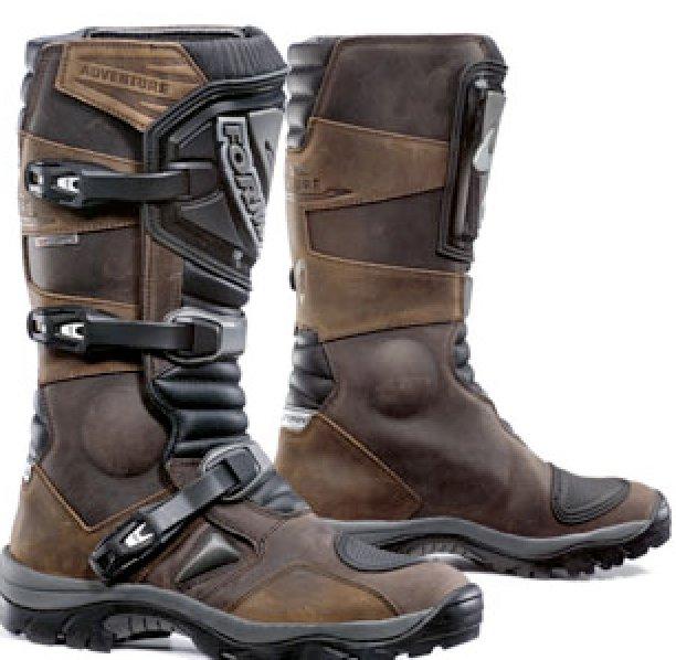 0ffe8673144 Motocyklové boty FORMA ADVENTURE hnědé