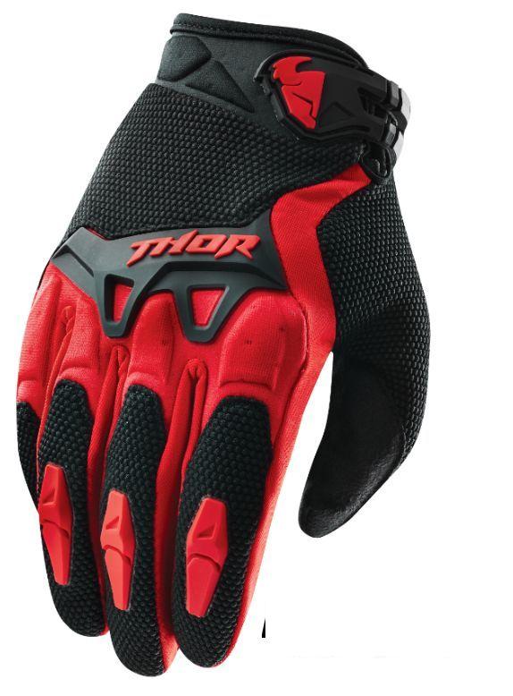 Motokrosové rukavice THOR SPECTRUM RED 2017 501695cdc7