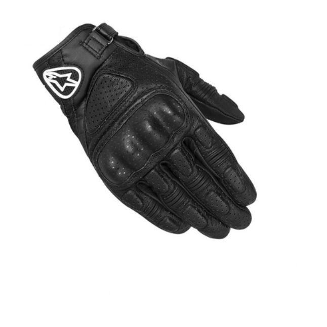Motocyklové sportovní rukavice ALPINESTARS MUSTANG černé model ... 85a21ea481