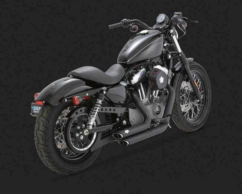 Harley Davidson Forty Eight Vance Hines Short Shots Thor
