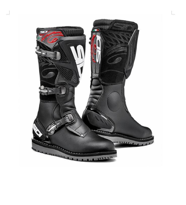 0d17d4665f2 Motokrosové boty SIDI TRIAL ZERO.1 black black 2017