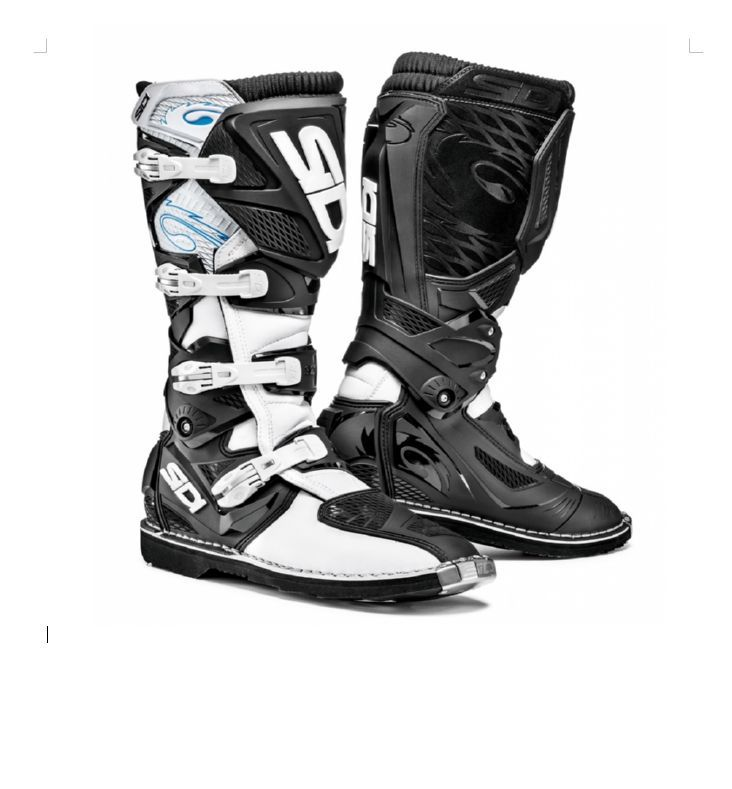 be4e1b32766 Motokrosové boty SIDI X-3 bílá černá 2017