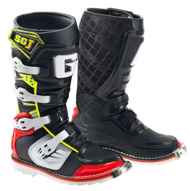 a210b3cc726 Dětské motokrosové boty Gaerne SG-J černá červená žlutá bílá