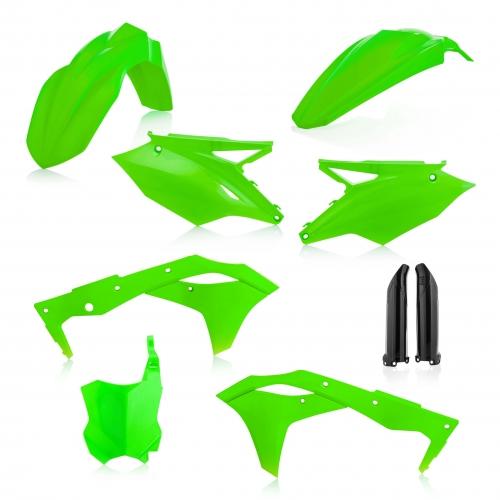Sada plastů ACERBIS KAWASAKI KXF 250 2018 fluo zelená  796261e7dec