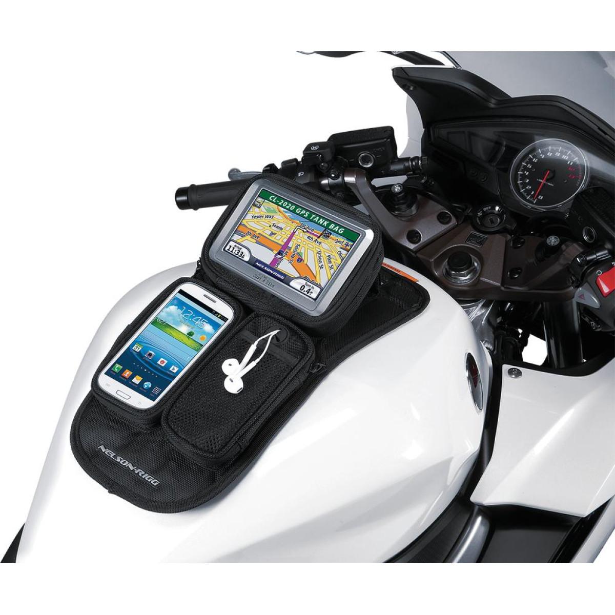 GPS připojení k motocyklu