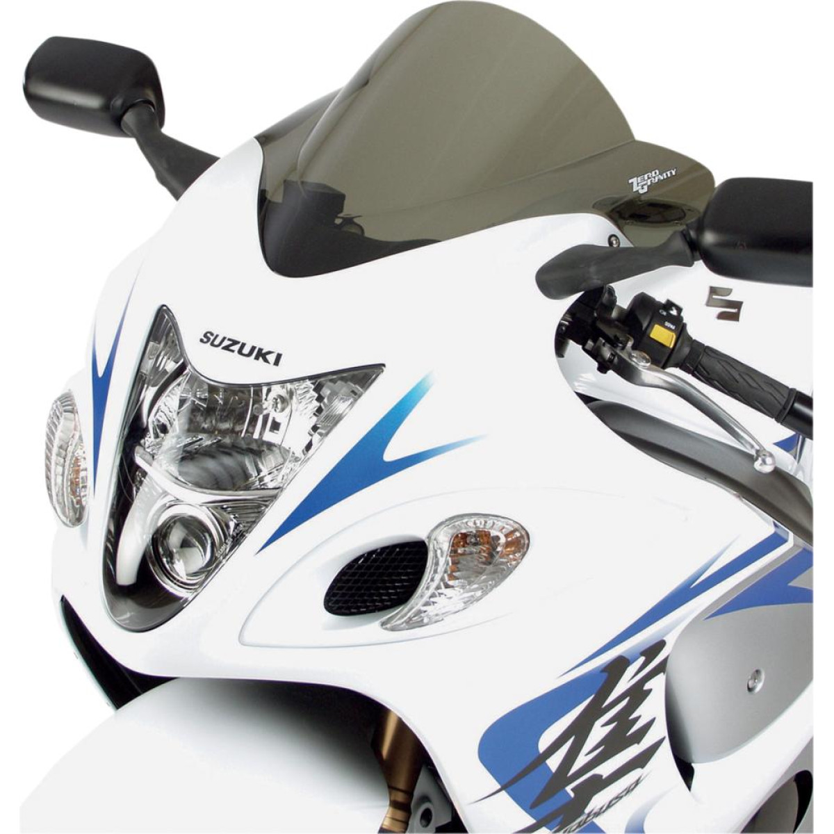 Plexi motocyklu ZERO GRAVITY DOUBLE BUBBLE pro SUZUKI GSX 1300 R Hayabusa  08-12 239c0c21ed