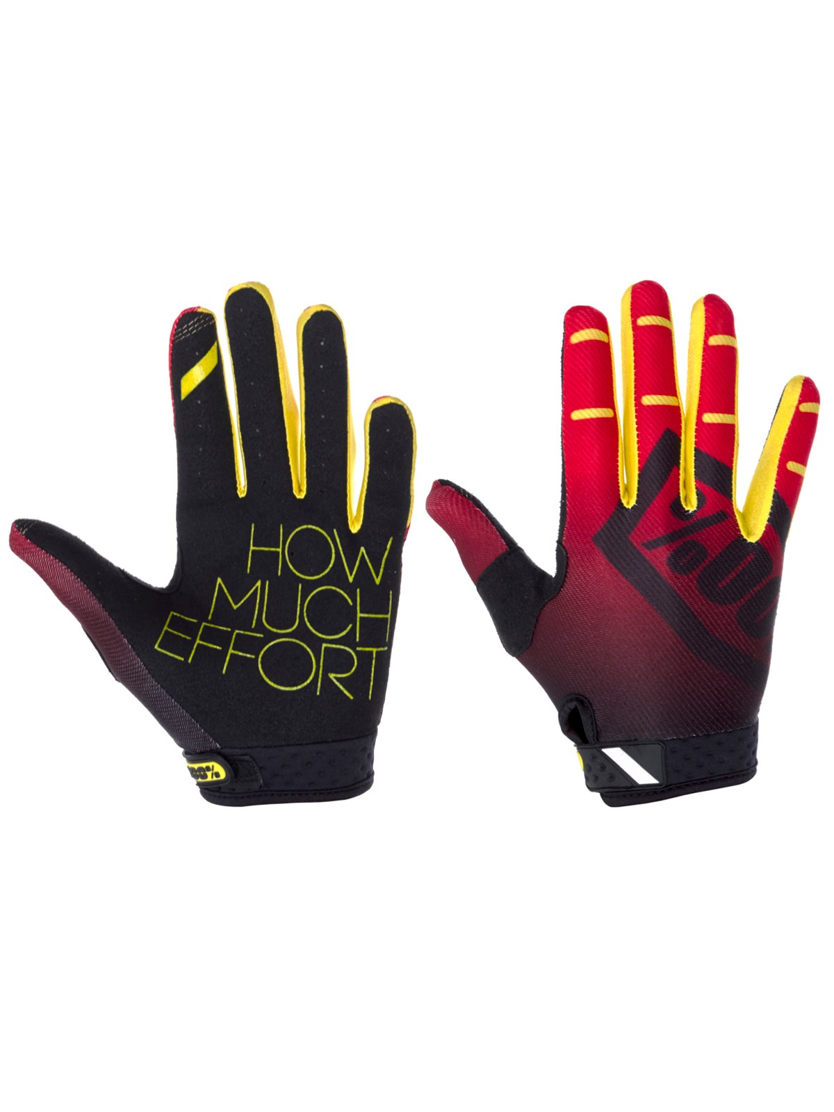 Motokrosové rukavice 100% RIDEFIT CORPO RED VEL. L  8d3b6b7f7a