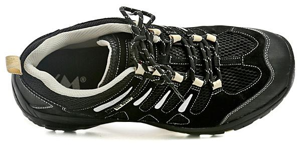 Pracovní boty VM BRASILIA O1 nízké - černé černá zelená  14c794215ca