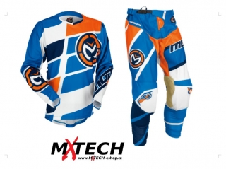 Motokrosový komplet MOOSE RACING M1 ORANGE/BLUE/NAVY 36+XL