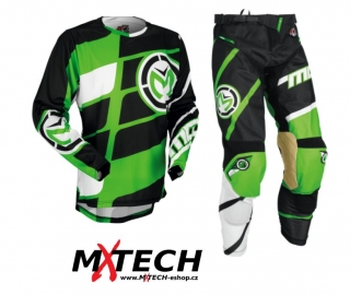 Motokrosový komplet MOOSE RACING M1 GREEN/BLACK 36+XL