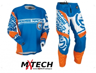 Motokrosový komplet MOOSE RACING QUALIFIER BLUE/ORANGE 2017