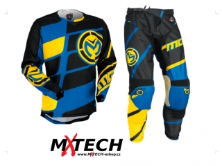 Motokrosový komplet MOOSE RACING M1 YELLOW/CYAN 2017 36+XL