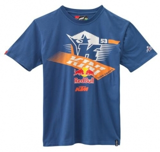 A Pánské triko KTM KINI-RB ATHLETIC TEE TRUE NAVY vel. XL