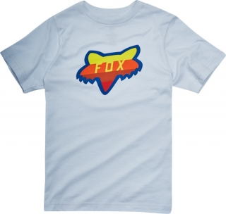 Dětské tričko Fox Youth Draftr Head SS Tee Heather Grey vel. L
