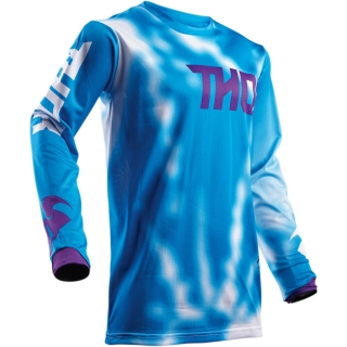 A Motokrosový dres THOR PULSE AIR RADIATE BLUE 2018 vel. L