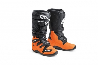 A Motokrosové boty ALPINESTARS TECH 7  KTM MX BOOTS ORANGE/BLACK vel. 9/43