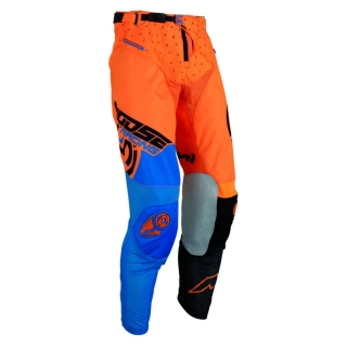 A Motokrosové kalhoty MOOSE RACING M1 ORANGE/BLUE/BLACK vel. 34