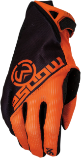 a Motokrosové rukavice MOOSE RACING SX1 ORANGE/BLACK vel. M