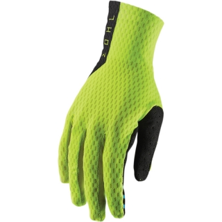 A Motokrosové rukavice THOR AGILE ACID FLUO YELLOW/BLACK vel. XL