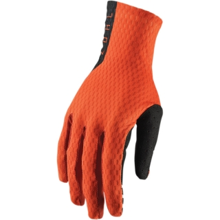 A Motokrosové rukavice THOR AGILE RED ORANGE/BLACK vel. M