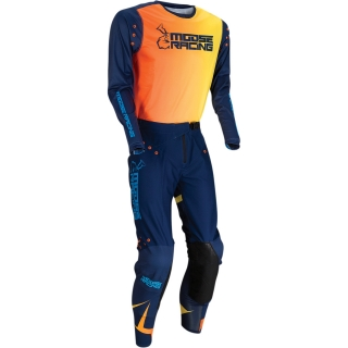 Motokrosový komplet MOOSE RACING M1 AGROID Navy/orange