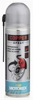 Ochranné mazivo s mědí MOTOREX COPPER SPRAY 300ml