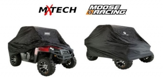 Ochranná plachta pro UTV a ATV MOOSE RACING OZARK UTV COVER black