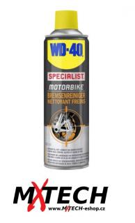Čistič brzd WD-40 MOTORBIKE BRAKE CLEANER 500 ml
