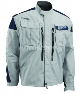Motokrosová - enduro bunda THOR PHASE JACKET CEMENT/NAVY 2018