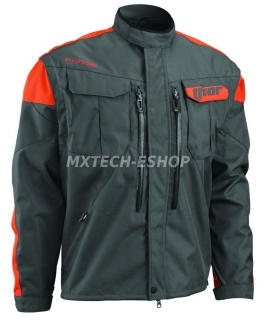 Motokrosová - enduro bunda THOR PHASE JACKET CHARCOAL-ORANGE 2018