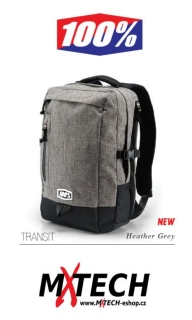 Batoh 100% TRANSIT Heather Grey 2016