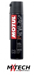 Mazivo na řetězy MOTUL CHAIN LUBE OFF ROAD C3 400ml
