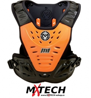 Hrudní chránič MOOCE RACING M1 ROOST SHIELD ORANGE/STEALTH