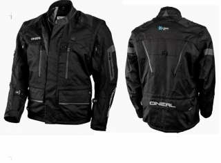 Enduro bunda ONEAL Baja Racing Enduro Moveo Jacket černá