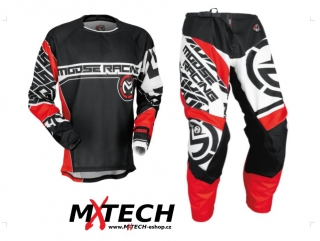Motokrosový komplet MOOSE RACING QUALIFIER RED/BLACK 2017