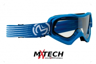 Motokrosové brýle MOOSE RACING QUALIFIER SLASH BLUE/WHITE