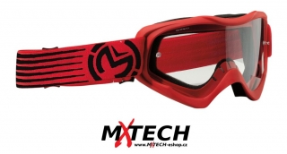 Motokrosové brýle MOOSE RACING QUALIFIER SLASH RED/BLACK
