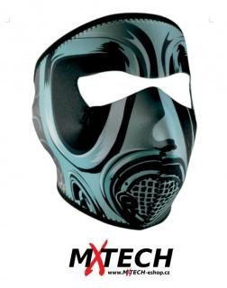 Ochranná neoprenová maska na obličej ZANHEADGEAR GAS GREY 8668dacb429
