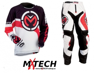 Motokrosový komplet MOOSE RACING QUALIFIER RED/BLACK VEL. 34+L