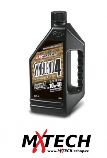 Olej MAXIMA MAXUM 4 SYNTHETIC BLEND OIL 10w40 3,8 litru