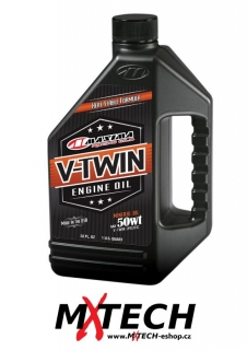 Olej MAXIMA PRE-EVOLUTION V-TWIN ENGINE OIL 50WT - OBSAH 946 ml
