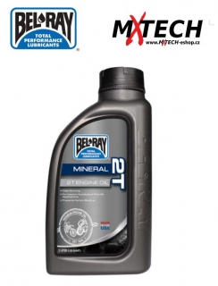 Olej BEL-RAY MINERAL 2T ENGINE OIL 1 LITR