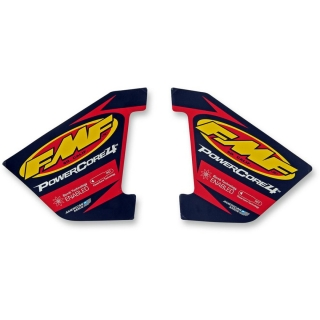 Set samolepek na výfuk FMF POWERCORE 4 HEX WRAP