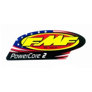 Samolepka na výfuk FMF POWERCORE 2 PATRIOTIC VINYL - sada 2 kusů 6b6b70150e