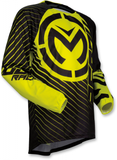 Motokrosový dres MOOSE RACING QUALIFIER BLACK/HI VIZ