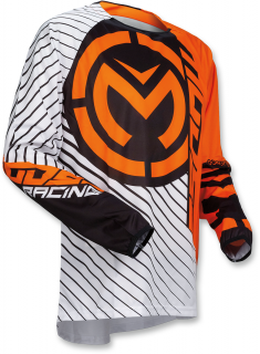 Motokrosový dres MOOSE RACING QUALIFIER ORANGE/BLACK