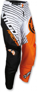 Motokrosové kalhoty MOOSE RACING QUALIFIER ORANGE/BLACK