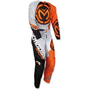 Motokrosový komplet MOOSE RACING QUALIFIER BLACK/HI VIZ YELLOW